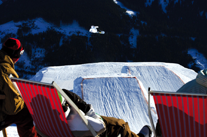 Gerlos snowpark HOT ZONE